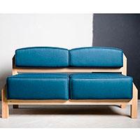 Диван Wudus T-block синего цвета, фото