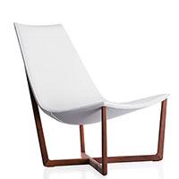 Кресло Porro Jade из кожи, фото