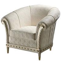 Кресло Versace Home Milady с брендовым тиснением, фото