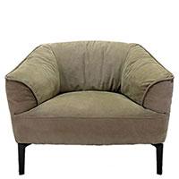 Кресло Borzalino Sigmund на металлических ножках, фото