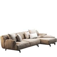 Диван Poliform Tribeca с подушками, фото