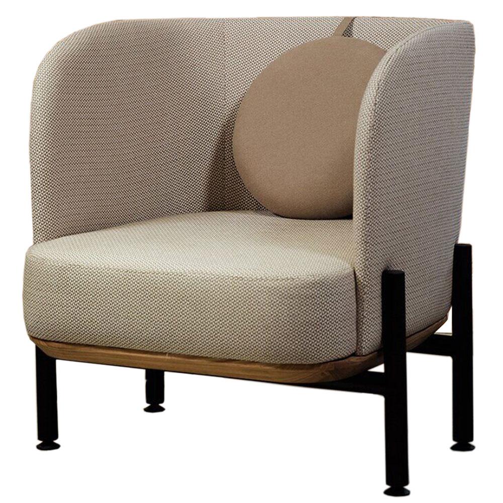 Кресло Wudus Royal Sun бежевого цвета