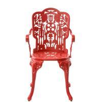 Стул Seletti Industry collection красного цвета, фото