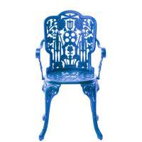 Стул Seletti Industry collection голубого цвета, фото
