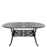 Овальный стол Seletti Industry Collection черного цвета, фото