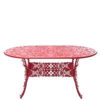 Стол Seletti Industry Collection красного цвета, фото