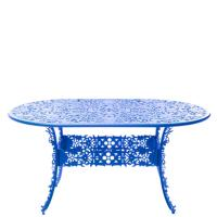 Стол Seletti Industry Collection синего цвета, фото
