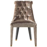 Коричневый стул Roberto Cavalli Home Lady Е с каретной стяжкой, фото
