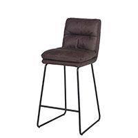 Барный стул PRESTOL Loft Гордон черного цвета, фото