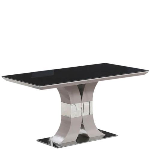 Стол PRESTOL Trend Космо обеденный черный, фото