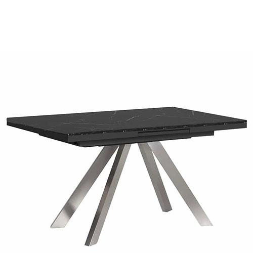 Раскладной стол PRESTOL Loft Кемел черного цвета, фото