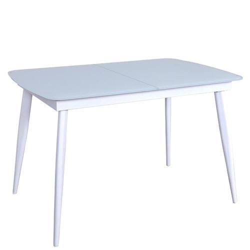 Стол PRESTOL Smart Твист обеденный раскладной белый, фото