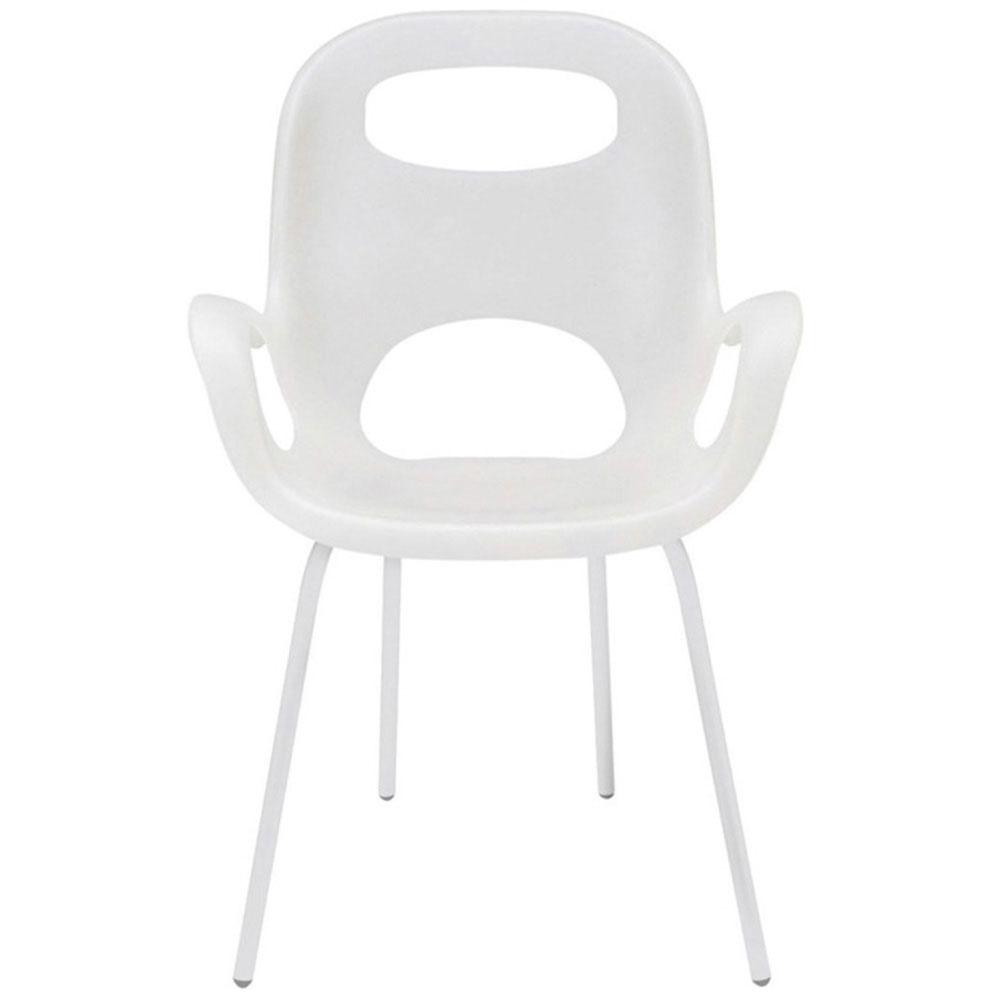 Белый стул Umbra Oh Chair с матовой отделкой