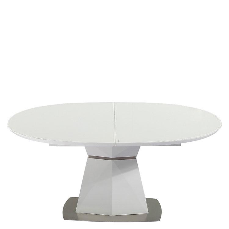 Раскладной стол PRESTOL Trend Даймонд белого цвета