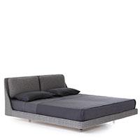 Кровать Porro Makura серая, фото