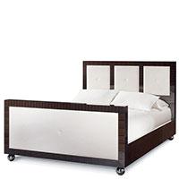 Кровать Matsuoka Moderne черно-белого цвета, фото