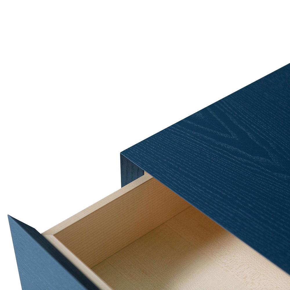 Комод Porro Offshore синего цвета