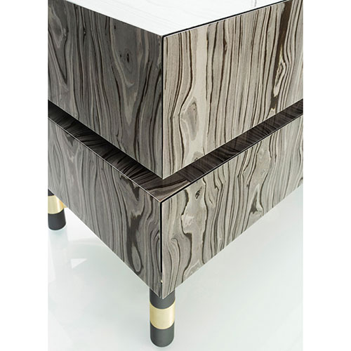 Комод JNL Level коричневого цвета, фото