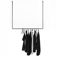 Вешалка Wudus Vigo черного цвета, фото