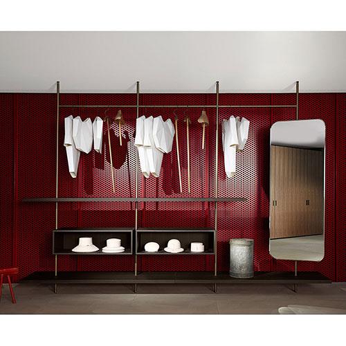 Открытый шкаф Porro Boutique Mast System в прихожую, фото