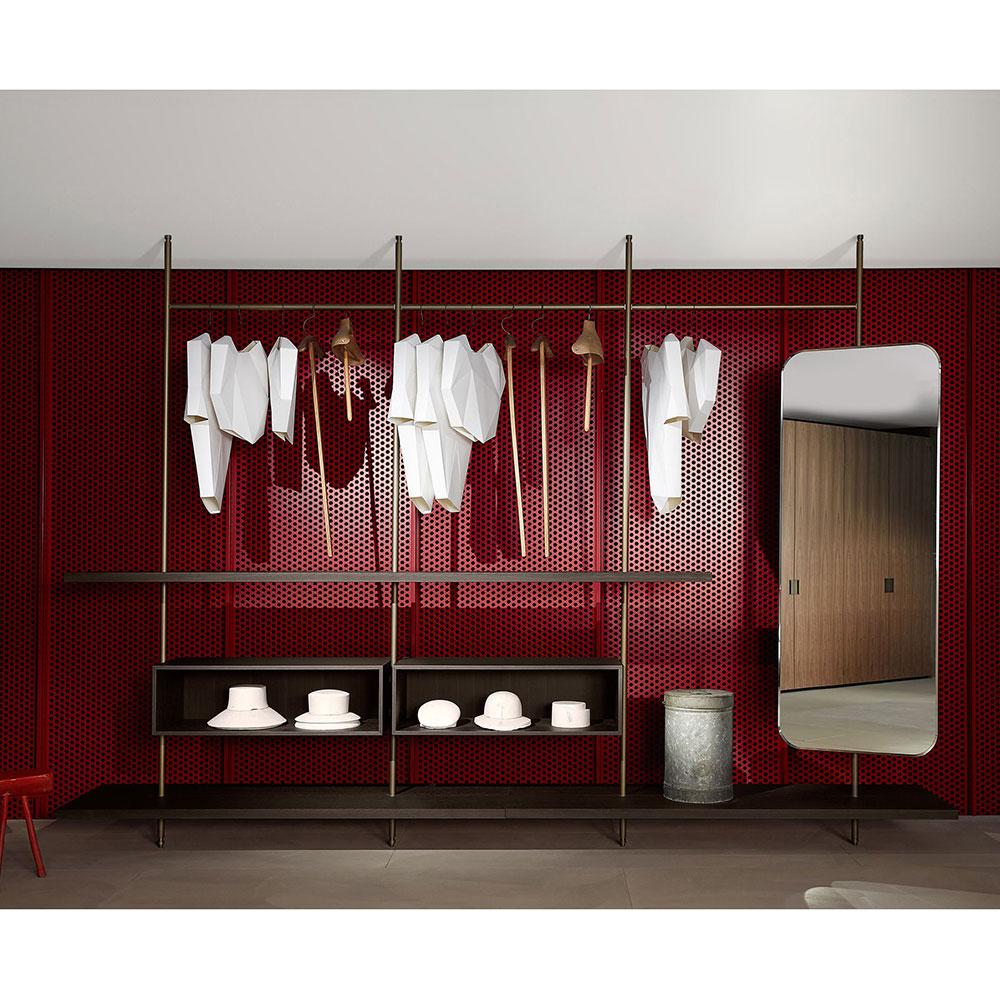 Открытый шкаф Porro Boutique Mast System в прихожую
