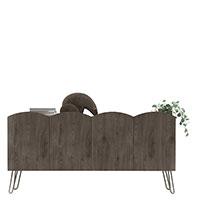 Тумба Wudus Fo-Fo Lounge серого цвета, фото