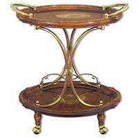 Сервировочный столик Capanni коричневого цвета, фото