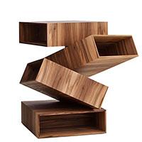 Стол журнальный Porro Balancing Boxes необычной формы, фото