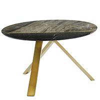 Кофейный стол Borzalino Meridian с мраморной столешницей, фото