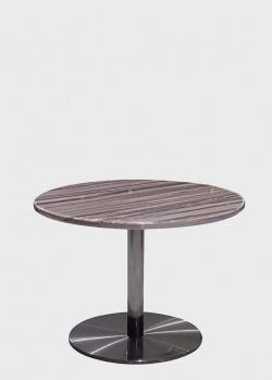Кофейный круглый стол PRESTOL Оникс на ножке, фото