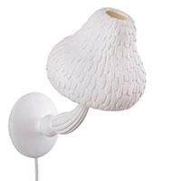 Светильник Seletti Mushroom в форме гриба белого цвета, фото