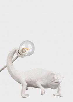 Настольная лампа Seletti Chameleon Lamp Still с лампочкой, фото