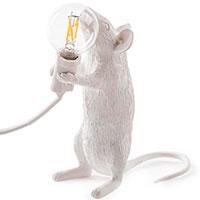 Белый светильник Seletti Мышь, фото