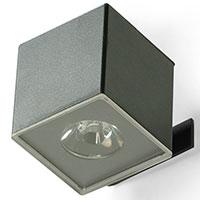 Светильник Pradex Квадро с корпусом из пластика и металла, фото