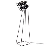 Напольный светильник Seletti Multilamp черного цвета, фото