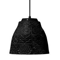 Подвесной светильник Ceramika Design Izraztsy 33.5 см черного цвета , фото