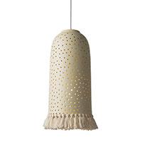 Подвесной светильник Ceramika Design Zori бежевого цвета, фото