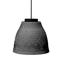 Подвесной светильник Ceramika Design Slavyanskiy kod с перфорацией в этно стиле, фото
