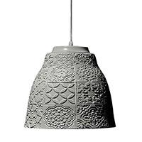 Подвесной светильник Ceramika Design Izraztsy 40 см серого цвета , фото