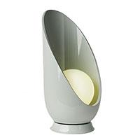 Настольный светильник Ceramika Design Akoya серого цвета, фото
