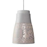 Подвесной светильник Ceramika Design Pivnyki Luminous 17 см с перфорацией в этно стиле, фото