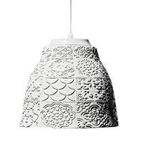 Подвесной светильник Ceramika Design Slavyanskiy kod 33.5 см с подвеской красного цвета, фото
