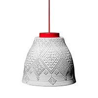 Подвесной светильник Ceramika Design Izraztsy 40 см белого цвета, фото