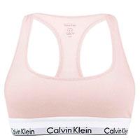 Розовый топ Calvin Klein Modern Cotton Bralette, фото