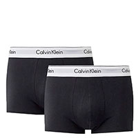 Набор боксеров Calvin Klein Modern Cotton черного цвета, фото