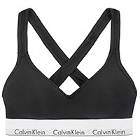 Черный топ Calvin Klein с логотипом на резинке, фото