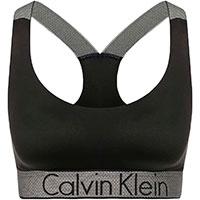 Однотонный топ Calvin Klein черного цвета, фото