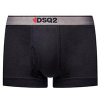 Черные боксеры Dsquared2 из хлопка, фото