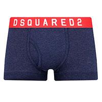 Синие боксеры Dsquared2 с логотипом, фото