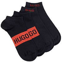 Набор носков Hugo Boss темно-синего цвета, фото